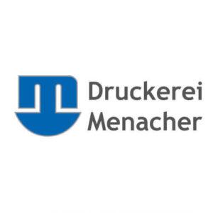 Sponsor Druckerei Menacher